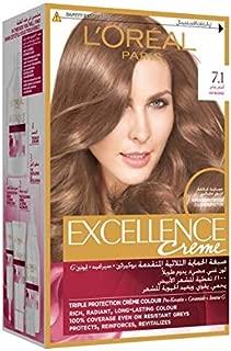 L'Oréal Excellence Crème 7.1, 192 ml