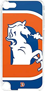 Skinit NFL Denver Broncos iPod Touch 6th Gen LeNu Case - Denver Broncos Retro Logo Design - Premium Vinyl Decal Phone Cover
