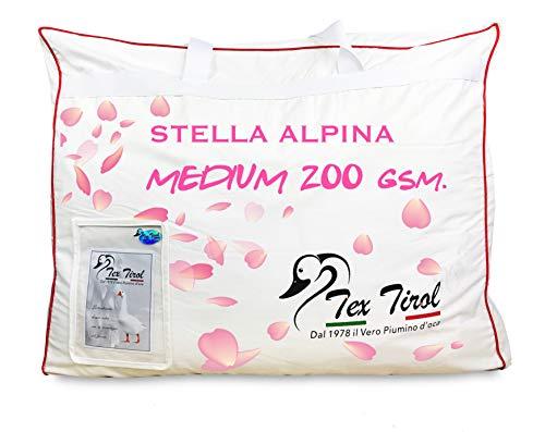 Piumino Tex Tirol  Stella Alpina Medium 200 gsm. 100% Piumino Oca Leggero Primaverile Estivo - Matrimoniale 2 PIAZZE CM. 250X200
