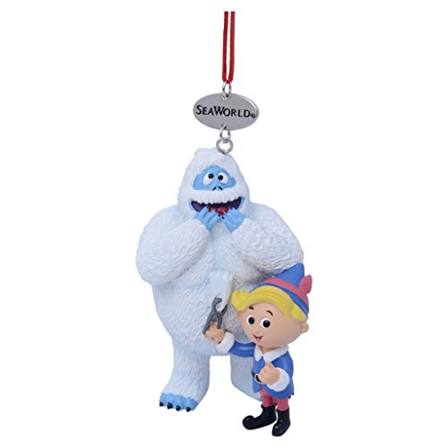 SeaWorld Bumble with Hermey Resin Ornament
