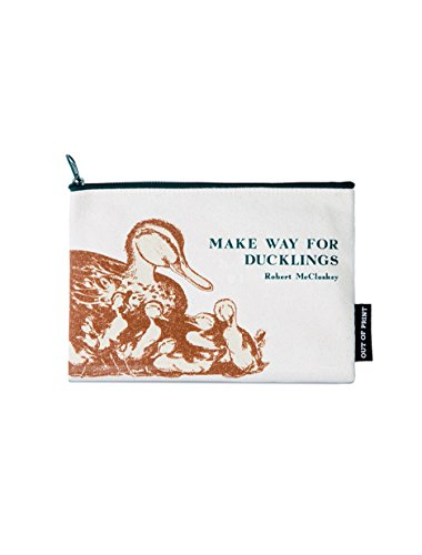 Out of Print Make Way for Ducklings Zipper Pouch Pencil Case