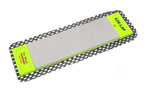 EZE-LAP DD6F/C 2 by 6 Double Sided Diamond Sharpening Stone F/C, Non Skid Pad Included