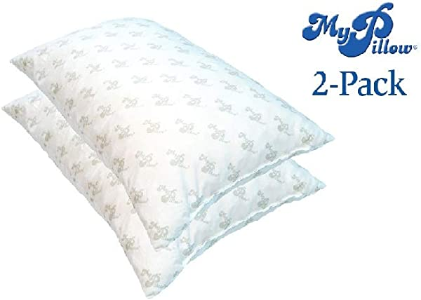 MyPillow Standard Queen Classic Medium Support Set Of 2