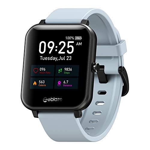 Smartwatch Zeblaze GTX Bluetooth Función de llamada Rastreador de fitness contestador de llamadas Reloj inteligente Monitor de frecuencia cardíaca NUEVO 2021 (gris)
