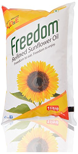 Freedom Refined Sunflower Oil, 1L