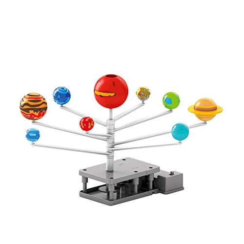 BSTCAR Sonnensystem Modell, Mobile Planeten Planetarium Sonnensystem mit 8 Sonnenplaneten Requisiten Unterrichten,Lernspielzeug für Kinder