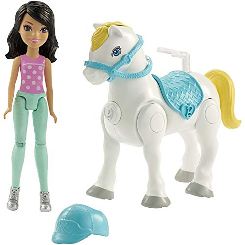 Barbie FHV64  Muñeca On the Go con ponis blancos, modelos