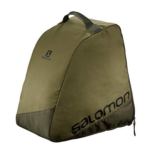 Salomon Bolsa para botas de esquí, Unisex, ORIGINAL BOOTBAG, Apta para 1 par de botas, Verde (Martini Olive), LC1413600