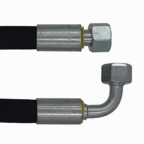 Manguera hidráulica 2SC DN10-12L – 450 mm DKOL – DKOL90