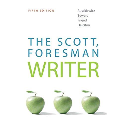 VangoNotes for The Scott, Foresman Writer,5/e cover art