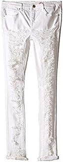 ブランクニューヨークシティー Blank NYC Kids キッズ 女の子 ジーンズ ジーパン デニム White Ripped Skinny Jeans in White 10BigKids [並行輸入品]