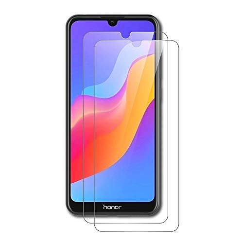 AICEK [2 Stück] Honor 8A / Huawei Y6 Pro 2019 Schutzfolie, Tempered Glass Bildschirmschutzfolie für Honor 8A Schutzglas Screen Protector Bildschirmschutz Huawei Y6 2019 Panzerglas (6,09 Zoll)