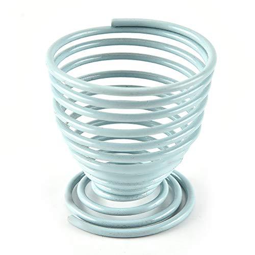 Lot de 2 supports de rangement ronds en métal avec structure en métal pour gouttes, outils de beauté