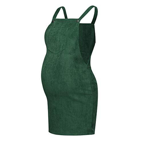Schwangere Kleider Damen, Damen Sommerkleid Umstandskleider Ärmelloses Damenkleid Sommer Trägerlose Stillkleider Sexy Minikleid Umstandskleid Sommerkleid