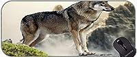 XXLプロフェッショナル大型マウスパッド、ウィンターオオカミ動物滑り止めゴムベースマウスパッド