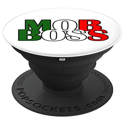 Mob Boss Bandera italiana 1920 Disfraz Fiesta de la mafia PopSockets Agarre y Soporte para Teléfonos y Tabletas