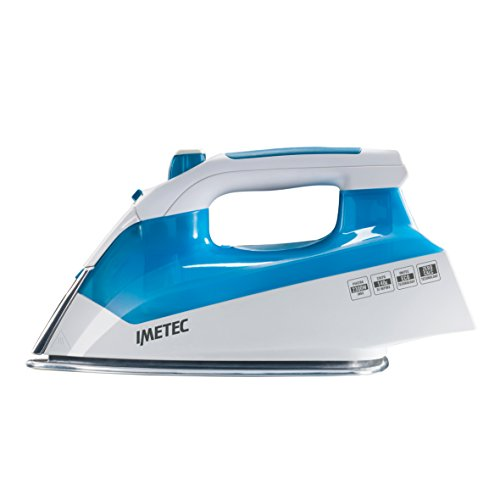 IMETEC Intellivapor K1 Plancha de vapor, 2300 W, Blanco/azul
