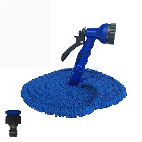 Langes Leben Heißer 25ft-200ft Gartenschlauch Erweiterbarer Flexibler Wasserschlauch EU-Schlauch-Kunststoffschläuche-Rohr mit Spritzpistole zur Bewässerung Einfach zu verwenden