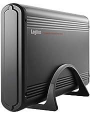 ロジテック 外付けハードディスクケース 3.5インチ USB3.0 USB3.1(Gen1) SATA3 TV対応 電源連動機能搭載 アルミボディ LGB-EKU3