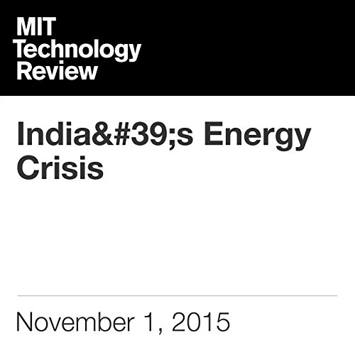 India's Energy Crisis audiobook cover art