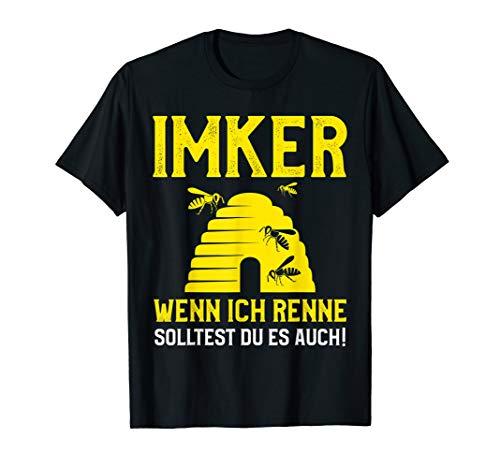 Imker T-Shirt - Lustiger Spruch mit Honig Bienen Bienenstock