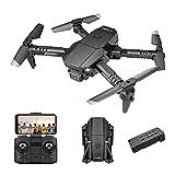 GAOYUAN Drones con cámara, sin motor de cepillo GPS estándar, utilizando tres sensores de sonido de chispa, juguete profesional para evitar obstáculos para Quadcopter