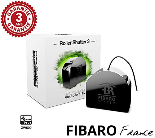 Fibaro Roller Shutter 3 - Micromodule pour volet Roulant Z-Wave + FF FGR-223 ZW5