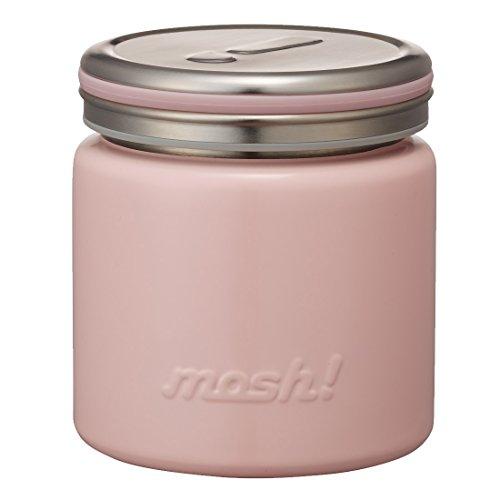 フードコンテナ 真空断熱 フードポット 0.3L ピーチ mosh! (モッシュ!) DMFP300PE