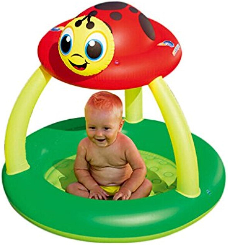 Aufblasbares Bad Kind Infant Home Pool Bad Barrel Dicker Isolierung Klappspielzeug Fünf Optional (Gre   10996cm)