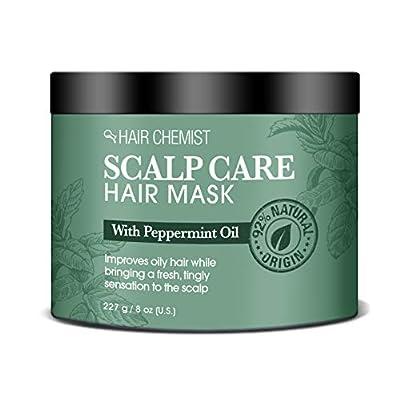 Hair Chemist Scalp Care Hair Mask with Peppermint Oil 8 ounce