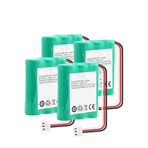 THENAGD Batería Nimh De 3.6v 2100mah, Hgb-2a10x3 Btr2260b Hgb-15aax3 Paquete AA para TeléFono 515h Ets2022 Ets2222 Ets2222 Ets2252 Ets3023 4Pieces