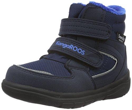 KangaROOS Unisex-Kinder Sympa In 2108 Schneestiefel, Blau (dk navy/royal blue 481), 29