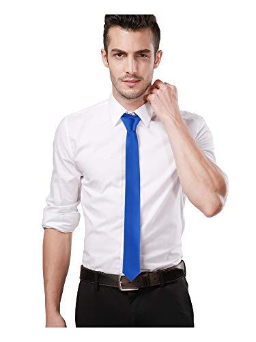 Landisun Ensemble 3 pièces en soie à rayures pour homme, comprend une cravate, un mouchoir et des boutons de manchette - Argenté - Small