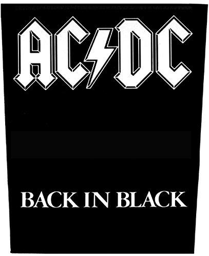 Back in Black Rckenaufnher