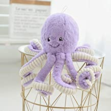 Nuxn Vivid Plush Octopus Toy Stuffed Animal Toy Realistic Cuddly Soft Plush Toys Doll Pillow Decoration Gift for Kids Children 40cm