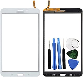 BisLinks White Digitizer Touch Screen Display Part for Samsung Galaxy Tab 4 8.0 + Tools