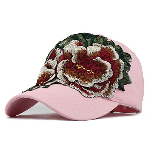 Baseballmütze Kappe Hut Baseball Cap Frauenstickerei Baseballmützen Mit Blumenhüten Für Damen Gorras Hut Für Damen Jeans Snapback Caps Hip Hop Hut