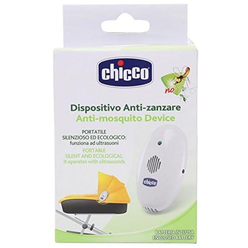 Chicco 00007222100000 Anti-zanzara Ultrasuoni Portatile, Bianco