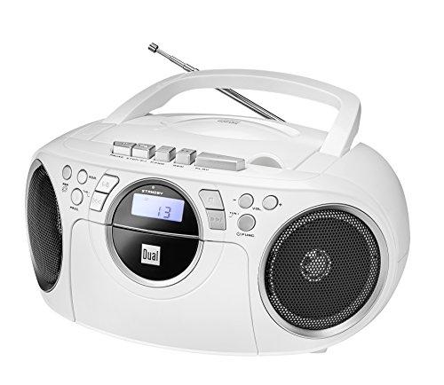 Dual P 70 Kassettenradio Weiß