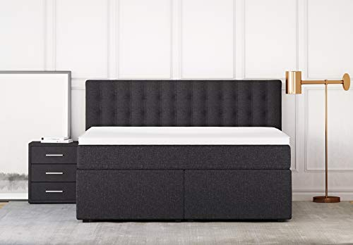 Boxspringbett mit Bettkasten King Luxus 7-Zonen Bild 3*