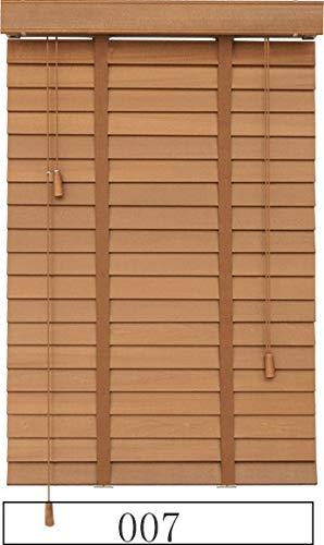 HOUSEHOLD Schattierungen Verdunkelung Jalousien für Fenster Holzjalousie Leiterband Styel Customized Größe Block Der Licht Real Wood Jalousien (Color : 007, Size : Customize Size(1 m2))