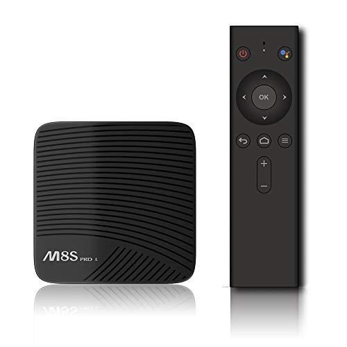 Android 7.1 STB M8S PRO L 3G / 16G 4K HD Netzwerk Player S9,Voice
