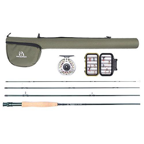 Maxcatch Explorer Fly Fishing Combo Kit 3weight Fly Rod and Reel Outf