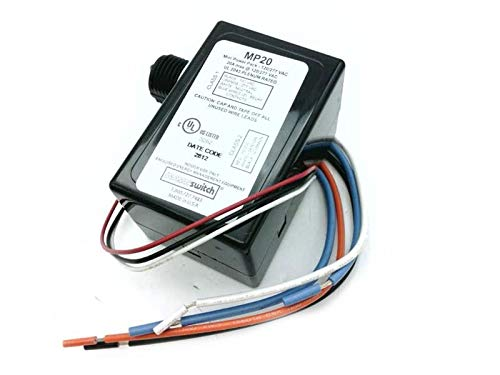 SENSORSWITCH MP20 Discontinued by Manufacturer, for USE W/Occupancy, 120/277 VAC, Power Pack, 20 AMP