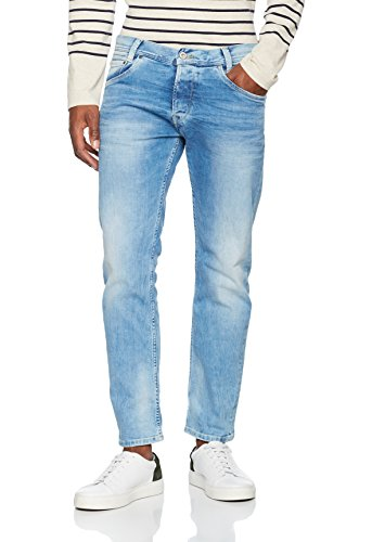 Pepe Jeans Spike Vaqueros, Blue Denim S55, 28W / 30L para Hombre