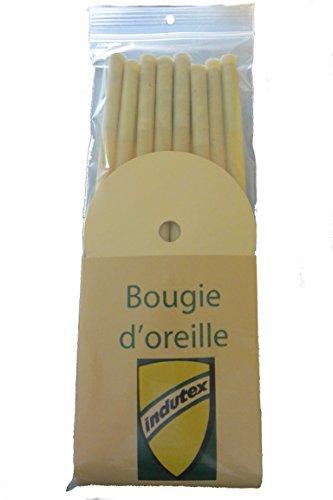 12 bougies d'oreille avec filtre et carton de protection - Produit en Picardie par bougie-auriculaire.fr