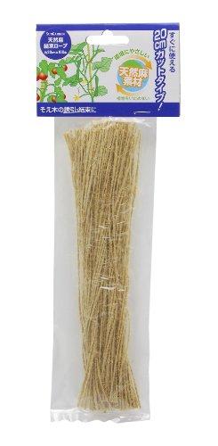 高儀 unGarden 天然麻結束ロープ 0cm×100本