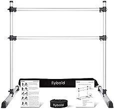 Ballet Barre Portable Double Freestanding Ballet Bar 4' Height Adjustable 29