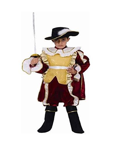 Dress Up America Déguisement de chevalier noble pour enfant, 541-S, Comme la présentation, 4-6 ans (taille: 71-76, hauteur: 99-114 cm)