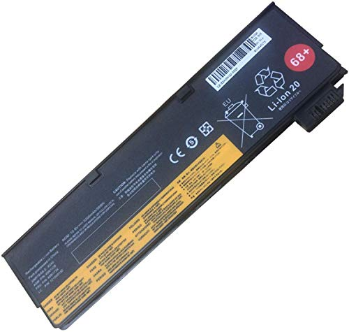Onlyguo 10.8V 5200MAH 45N1124 45N1128 0C52862 Replacement Laptop Battery for Lenovo ThinkPad X240 X250 X260 T440 T450 T440S T450S T460 T460P T550 W550S T560 45N1125 45N1127 45N1144 45N1769 68+
